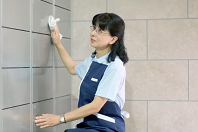 快適な毎日を支える「清掃業務」 イメージ