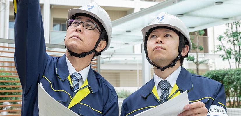 マンション・ビル大規模修繕工事 イメージ