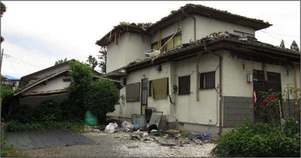 【益城町木山地区】1985年頃の建物(新耐震基準)
