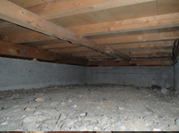 床下調査イメージ