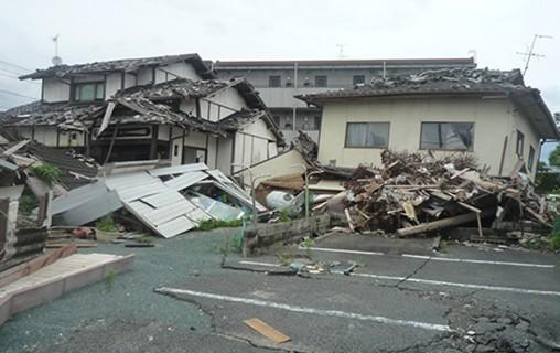 鳥取地震イメージ